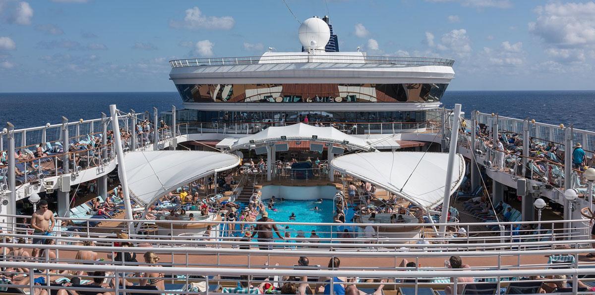 onboard cruise ship